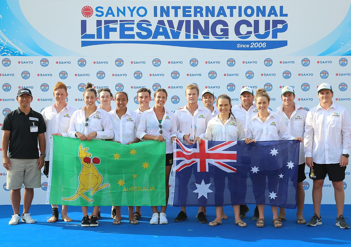 優勝はオーストラリア。驚異の11連覇!